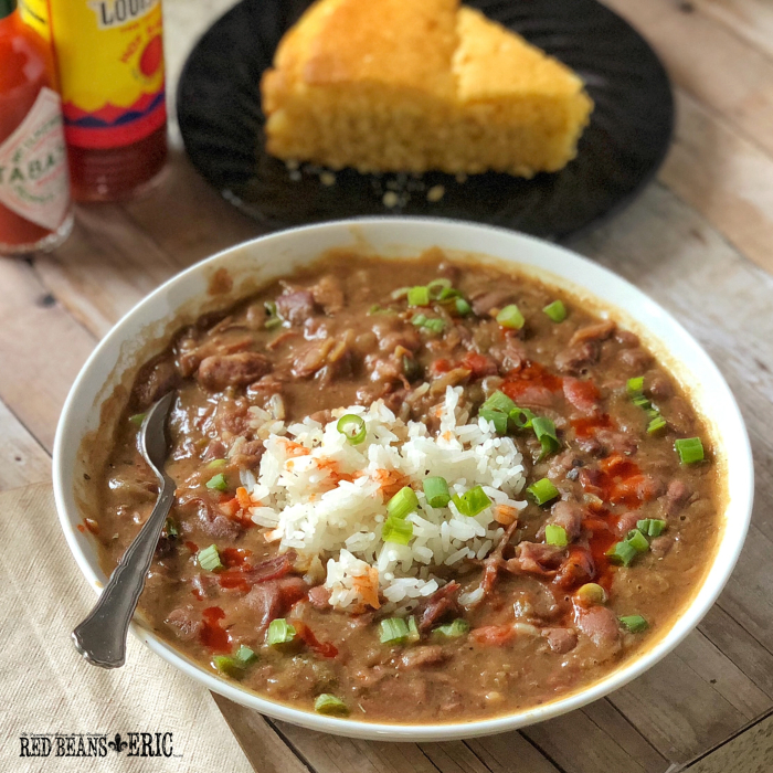 Red Beans and Rice Recipe with the Heart and Soul of New Orleans from RedBeansAndEric.com