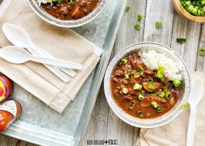 Easy Blue Runner Red Beans & Rice Recipe by RedBeansAndEric.com