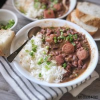 Homemade Red Beans and Rice that is Better Than Popeyes