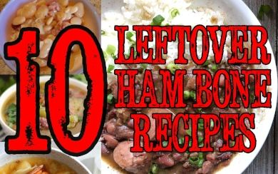 10 Leftover Ham Bone Recipes That You Will Love! A Variety of Recipes shared by Red Beans and Eric