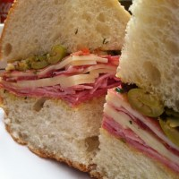 Muffuletta with Olive Salad