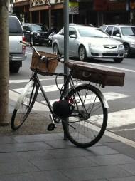 briefcase and basket in glebe