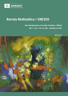 Revista Redbioética / UNESCO No. 22