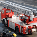 fire department ladder truck