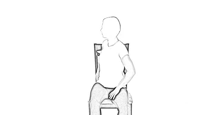 Seated Rotation 2 | Abdominal Stretches