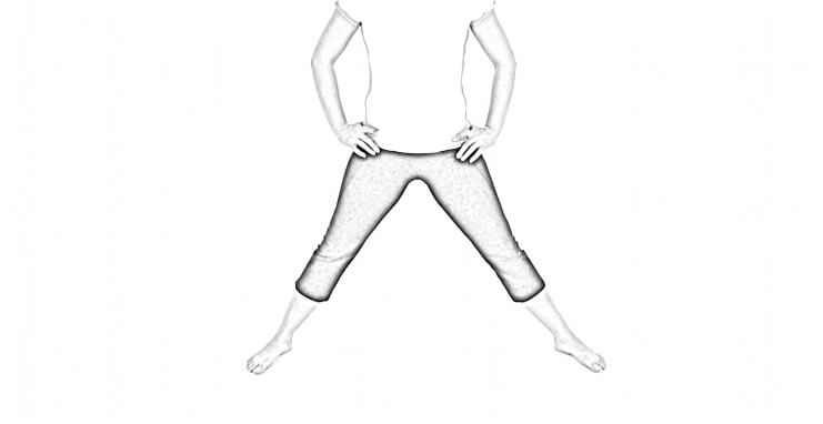 Standing Adductor Stretch 1 | Adductor Stretch
