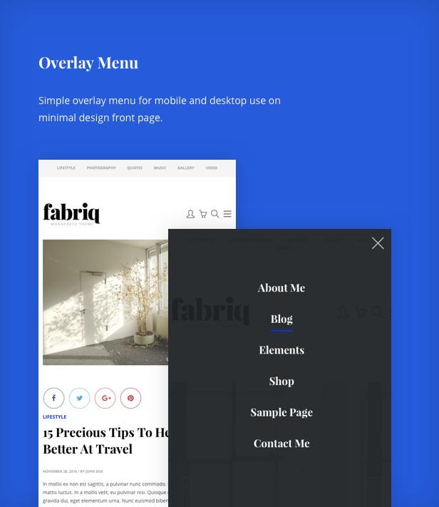 Fabriq - Personal WordPress Blog Theme - 6