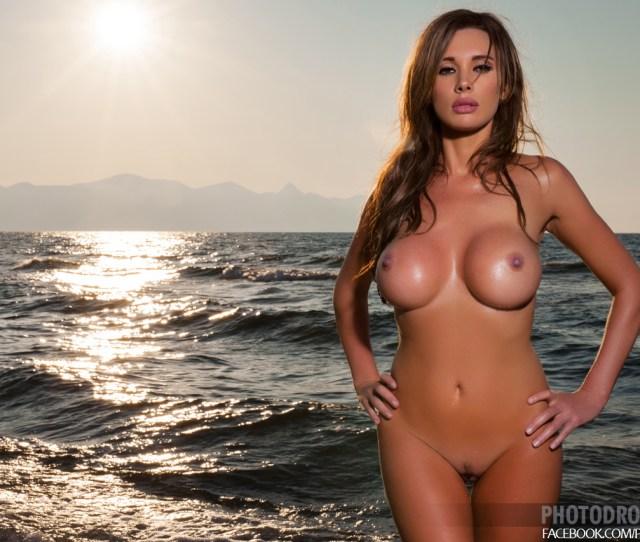 Kirstin Tits Bikini Seaside Naked Photodromm 07