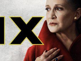 Leia Organa Carrie Fisher Episodio IX