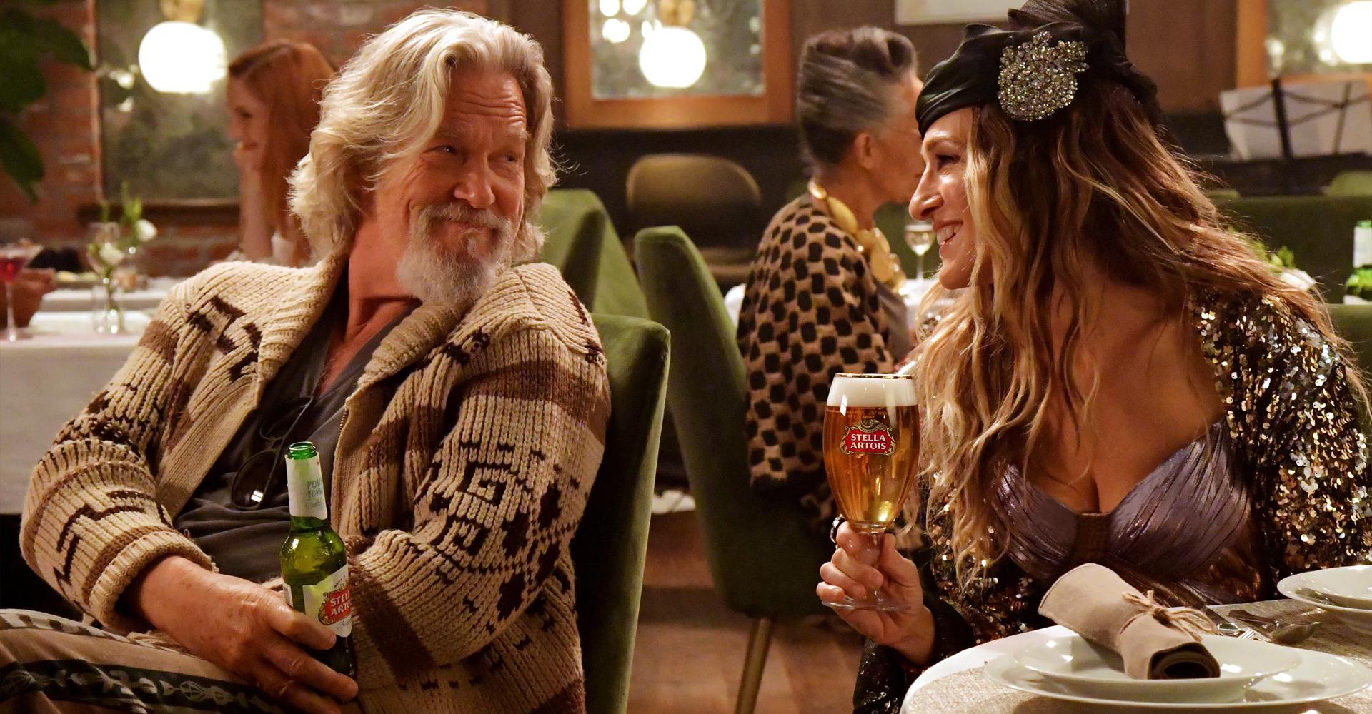 Jeff Bridges Stella Artois