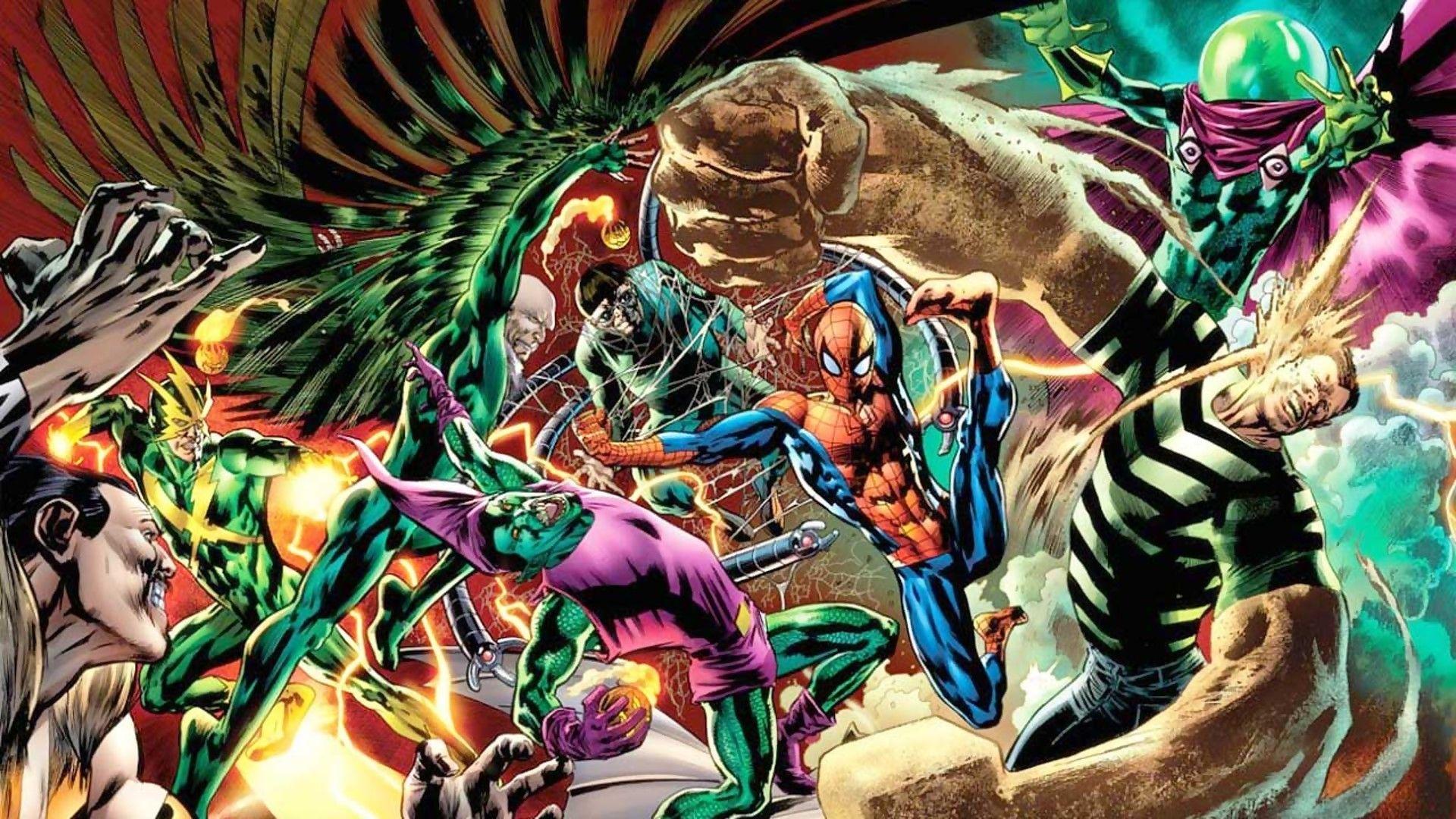 spider-man sinistri sei