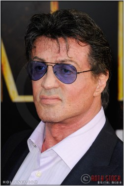 """Sylvester Stallone at the World Premiere of """"Iron Man 2"""""""