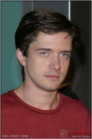 """Topher Grace at the Premiere Screening of """"Just Married"""""""