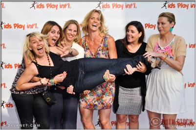 Meaghan Kammarman, Ally Bowdoin, Jaime Komer, Kathy Knoll, Anne Poulin and Tracy Evans, at Kids Play International's 4th Annual Cocktails For A Cause