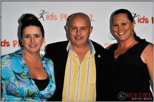 Manhattan Beach City Council Member Tony D'Errico (Center) and Guests at Kids Play International's 4th Annual Cocktails For A Cause