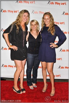 Olympic Athletes April Ross, Tracy Evans and Jen Kessy at Kids Play International's 4th Annual Cocktails For A Cause