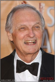 Alan Alda arriving at the 11th Annual Screen Actors Guild Awards