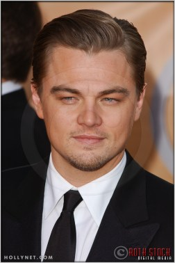 Leonardo DiCaprio arriving at the 11th Annual Screen Actors Guild Awards