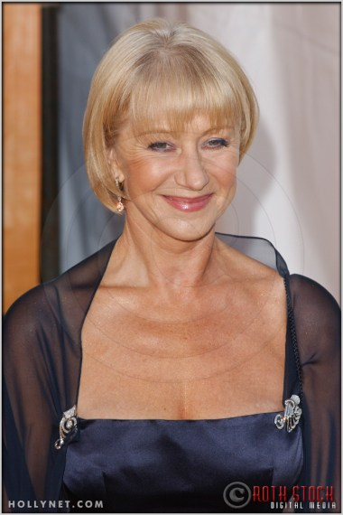 Helen Mirren arriving at the 11th Annual Screen Actors Guild Awards