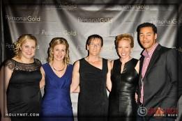 Olympians Jennie Reed, Sarah Hammer, Guest, Dostie Bausch and Giddeon Massie