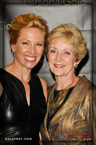 Olympian Dotsie Bausch and Margie Cowden