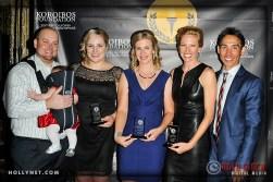 Brandon Madden, Olympians Jennie Reed, Sarah Hammer, Dotsie Bausch and Kirk Bausch