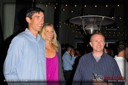 Pro Volleyball Player Matt Komer, Olympian Jaime Komer and Michal Land