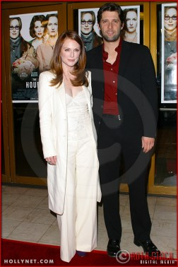 """Julianne Moore and Bart Freundlich attend the World Premiere of """"The Hours"""""""