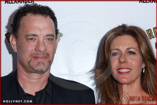 Tom Hanks and Rita Wilson attend opening night of The Producers