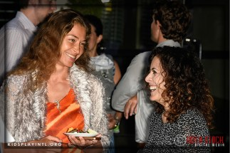 (L-R) Actress Marina Kazankova and publicist Melinda Travis