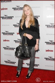 Portia Doubleday attends the Los Angeles Premiere of Inglourious Basterds