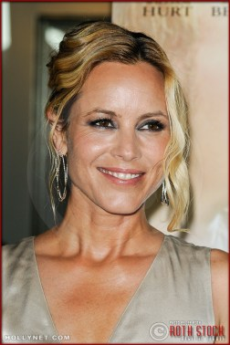 "Maria Bello attends the premiere of ""The Yellow Handkerchief"""