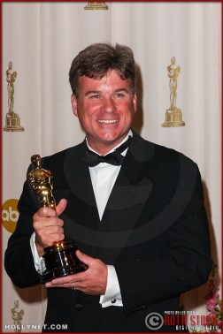 Conrad W. Hall in the Press Room at the 75th Annual Academy Awards®