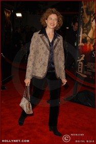 "Actress Annette Bening attends the U.S. premiere of ""The Last Samurai"""