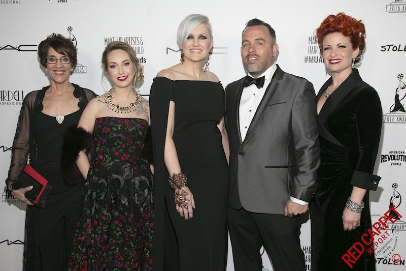 Make Up Stoel : Award season make up artists hair stylists guild awards