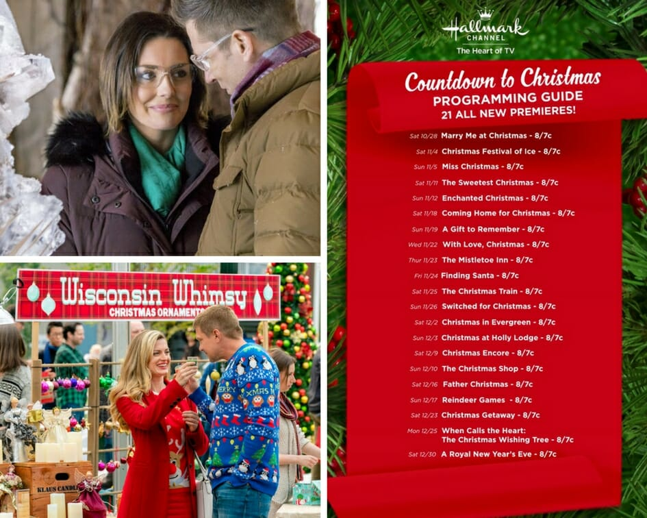 Christmas Festival Of Ice.Countdown To Christmas Continues On Hallmark Channel