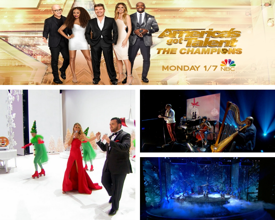 Americas Got Talent Christmas.America S Got Talent A Holiday Of Champions Will Delight Tonight On