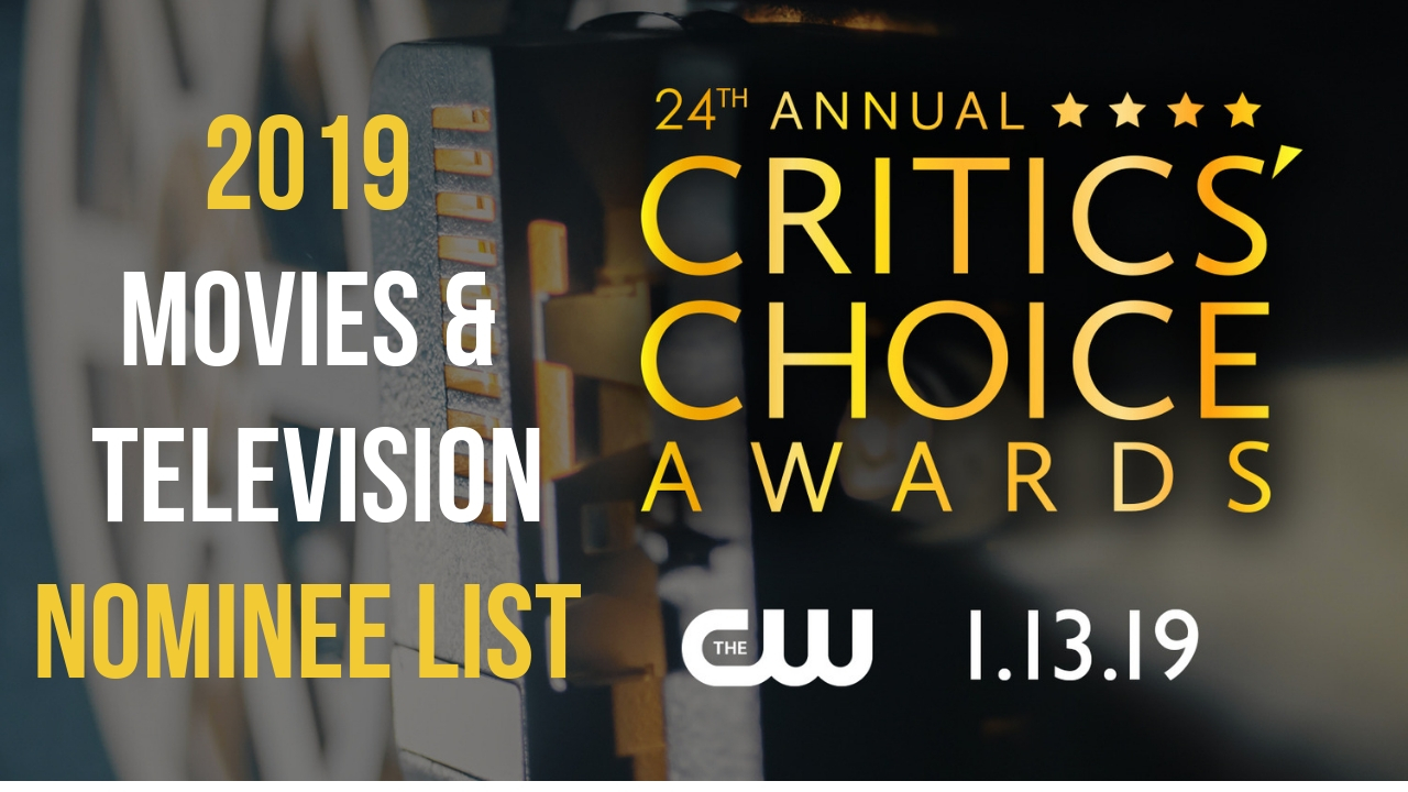 Nominees Announced For The 24th Critics Choice Awards For Movies