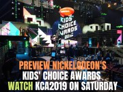 Preview Nickelodeon's Kids' Choice Awards Watch KCA2019 on Saturday