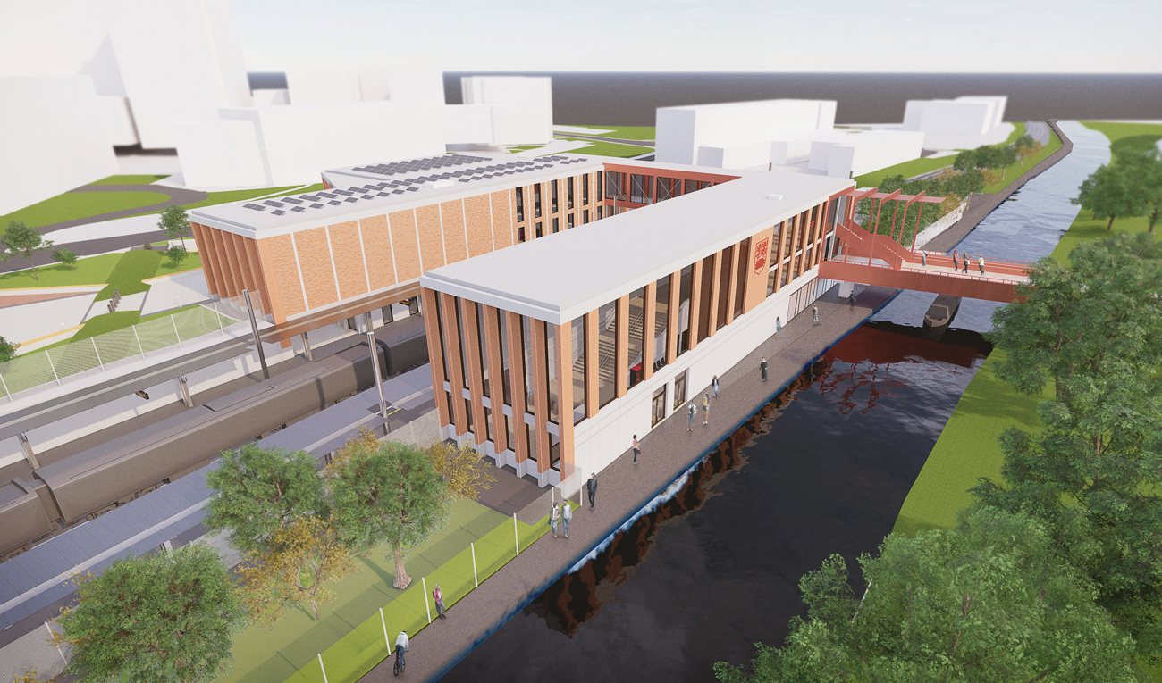 Red-CCTV-create-eco-saving-CCTV-solution-for-VolkerFitzpatrick-at-Birmingham-University-Station-project-2