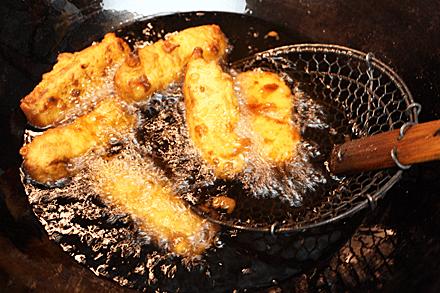Frying Milk Custard