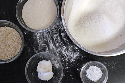 Ingredients for Sesame Balls