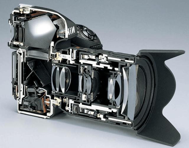 строение фотокамеры