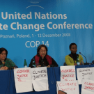 GenderCC Contribution on REDD to the UNFCC