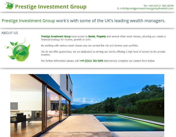 Prestige Investment Group