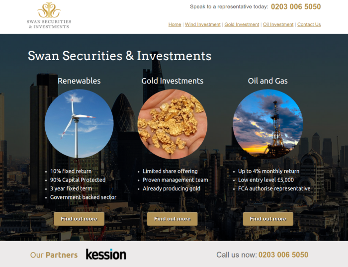 Swan Securities and Investments