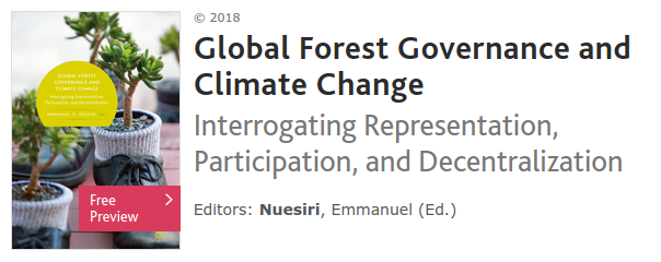 Global Forest Governance and Climate Change