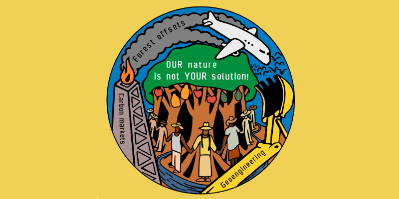 Our Nature is Not Your Solution