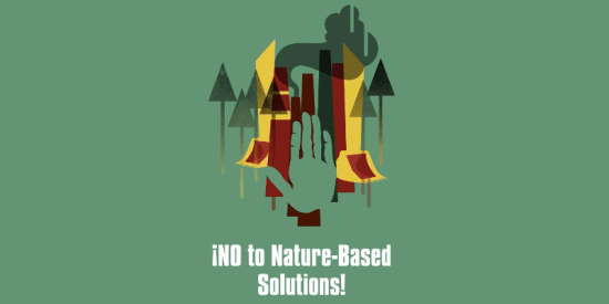 NO to nature-based dispossessions!