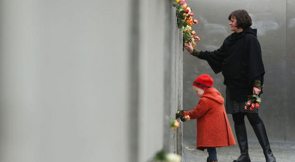 Germany Marked 25th of Anniversary of the fall of the Berlin Wall